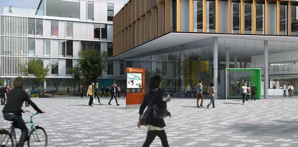 University of Northampton Wayfinding